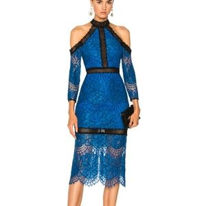 Alexis Royal Blue Lace Marlowe Dress Size Small